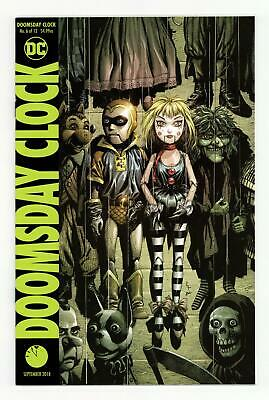 Doomsday Clock (DC) #6A 2018 Frank Variant NM 9.4