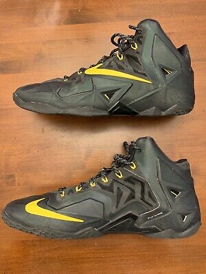 04dd99248685 Nike Lebron 11 Black Size 13 Men Nike ID Excellent Condition + Free Shipping