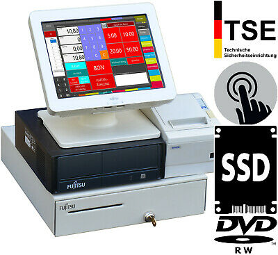 Touchscreen till Cash Register System with Gdpdu for Retail and Gastronomy KA11