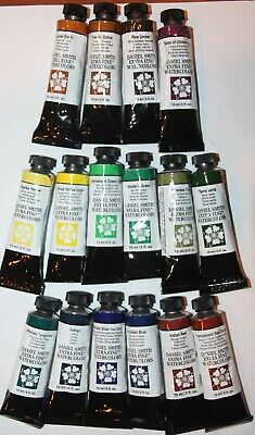 16 DANIEL SMITH Extra Fine Watercolor Paint:15ml-SERIES 1 COLORS