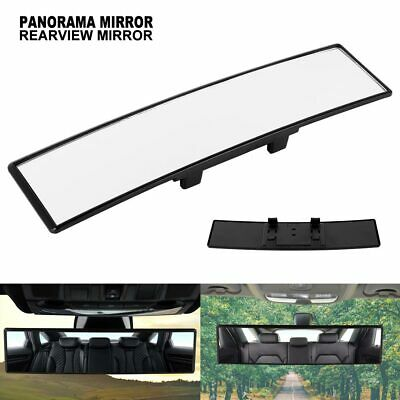 Universal Car Oversized Large Long Wide Rear View Mirror Clip On Parking Safe