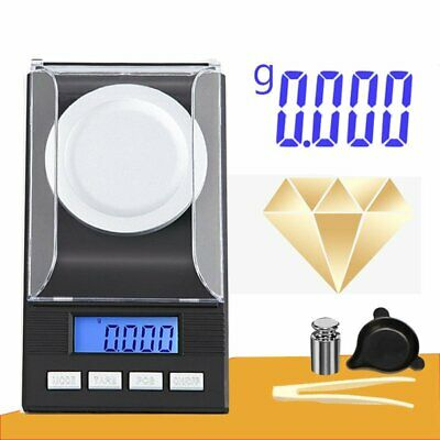 50g 0.001g High Precision Pocket Jewellery Scale Electronic Digital Milligram KS