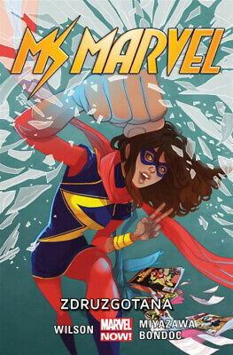 Ms Marvel: Zdruzgotana, tom 3 - G. Willow Wilson, praca zbiorowa
