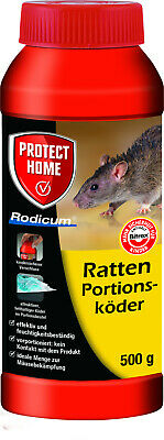 Protect Home Rodicum Ratten Portionsköder 500g Ratte Rattengift