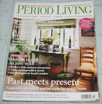 Vintage PERIOD LIVING Magazine, October 2007