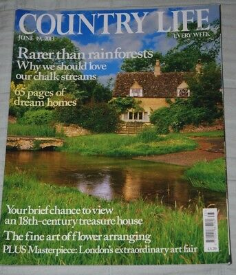 Vintage COUNTRY LIFE Magazine June 19, 2013 Houghton Hall, Art & Antiques