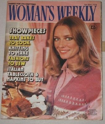 Vintage WOMAN'S WEEKLY Magazine 5th May 1979