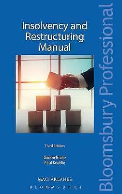**NEW** Insolvency and Restructuring Manual by Simon Beale, Paul Keddie (Pb)