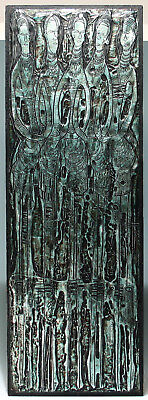 Signed Metal Foil Etching by BRUCE ONOBRAKPEYA 1982, Nr. 12/30