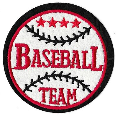 Patch écusson blason patche Baseball Team Balle thermocollant