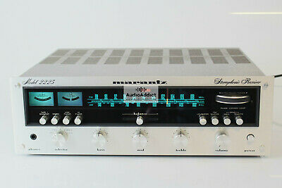 Marantz 2225 Stereo Receiver *serviced & recapped* MINT condition