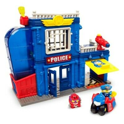 SuperZings Rivals of Kaboom Police Station Playset Kids Child Toys Multi-Colour
