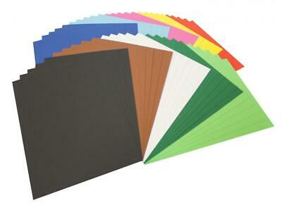 Folia carton photo 614/50 09 –, DIN A4, 50 feuilles, couleurs assorties