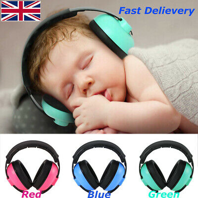 Kids Baby Ear Defenders Adjustable Earmuffs Ear Anti Noise 3 Layers Protection