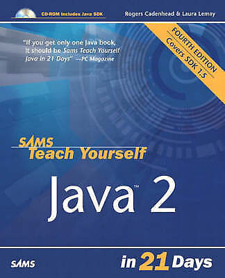 (Very Good)-Sams Teach Yourself Java 2 in 21 Days (Paperback)-Lemay, Laura, Cade
