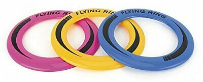 Flying Ring Disc Frisbee Flyer Adult Kids Family Summer Play Toy Assorted TY4993