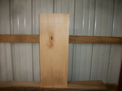 "1 Pc Bass Wood Lumber Wood Air Dried Board 1 5/8"" Thick Lot 404W Block Blank"