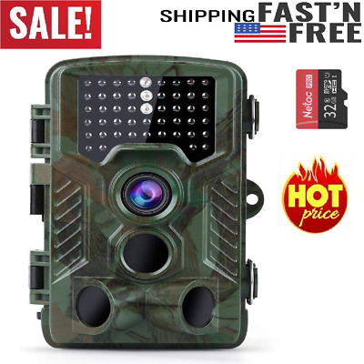 NEW 2019 16MP 1080P Trail Game Camera breakthrought night vision - 40Pcs IR LED