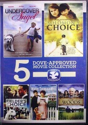 Dove Approved 5 Movie Collection NEW DVD Undercover Angel Plus 4 More Classics