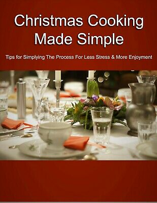 Christmas Cooking Made Simple eBook PDF