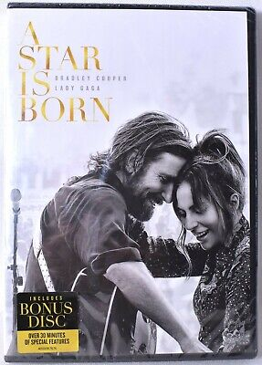 A STAR IS BORN Widescreen DVD with Special Bonus Disc >NEW< Minor Damage