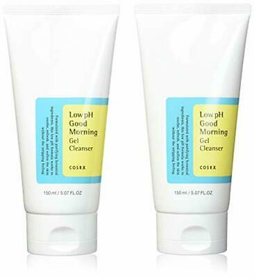 COSRX Low Ph Good Morning Gel Cleanser 150ml, 2 Pack - Oil Control, Deep Cleansi
