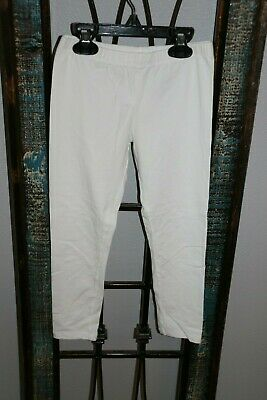 The Children's Place Girls Leggings Pants - Size M 7/8 - White
