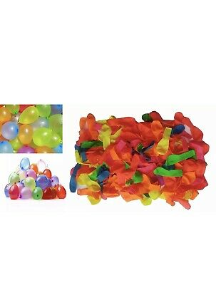 150 Water Balloons Bombs Multi Colour Kids Summer Party Fun Toys Bag Fillers UK