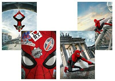Marvel Comics: Spider Man Far From Home  A5 A4 A3 Textless  Movie & DVD Posters