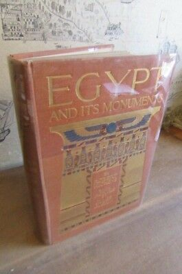 1908 EGYPT & ITS MONUMENTS by HICHENS JULES GUERIN 60 PLATES CAIRO GIZA PYRAMID^