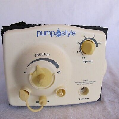 Medela Pump Style Replacement pump only Nice