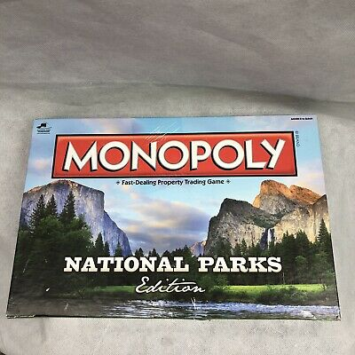 America's National Parks Monopoly Board Game