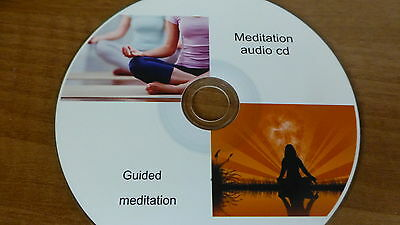 relax  anxiety, calm the mind with guided meditation , for stress relief on CD