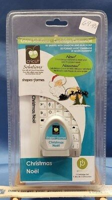 """Cricut Solutions Cartridge; """"Christmas""""  #29-0693  New, Factiory Sealed"""