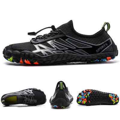 AU Mens Big Size Swimming Water Shoes Quick Dry Diving Barefoot Beach Aqua Shoes