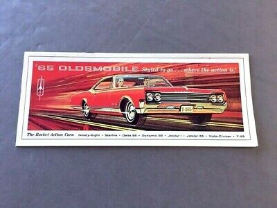 1962 OLDSMOBILE STARFIRE Coupe and Convertible Original Car Sales