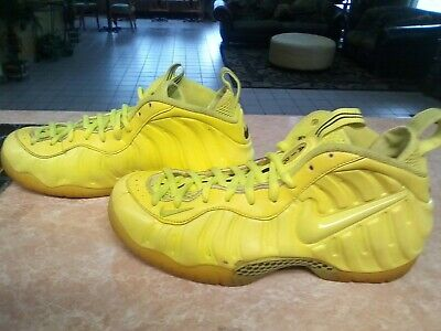 separation shoes 8a5f7 2aef6 Nike Foamposite Pro Volt Basketball Shoes Size 9.5 Neon Yellow 624041 700