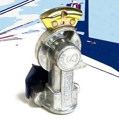 Phillips 12-006 Blue Service Straight Mount Gladhand For Tractor/Trailer