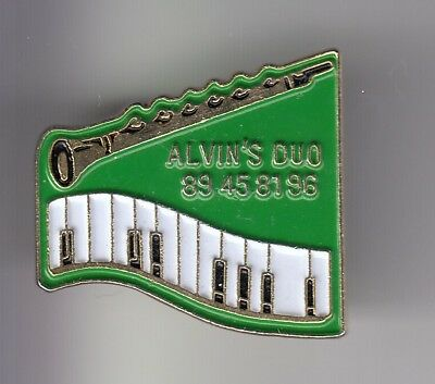 Rare Pins Pin's .. Musique Music Rock Jazz Blues Alvin Duo Piano Clarinette ~Dv