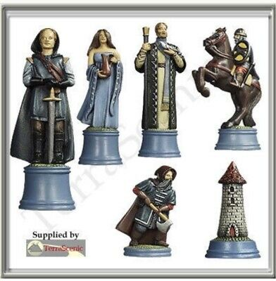 Chess Set Moulds Mould Prince August Lords of the West PA721