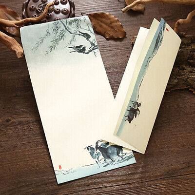 Retro Chinese Style Writing Paper Vintage Letter Paper Envelope Stationery Z