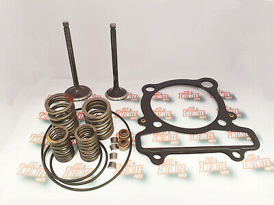 CYLINDER INTAKE EXHAUST VALVE GASKET KIT for Yamaha Grizzly 350