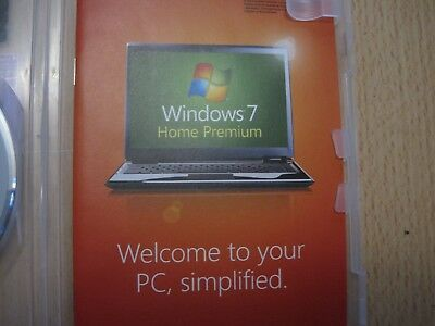 Microsoft Windows 7 Home Premium 64 bit with SP1 and Product Key