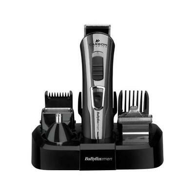 Babyliss 7425CU Carbon Titanium 10-in-1 Face & Body Hair Grooming Kit For Men
