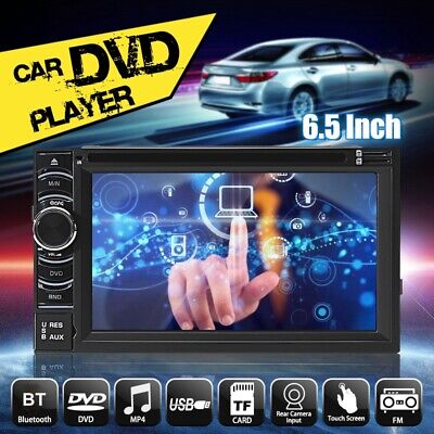 6.5'' Android Radio 2DIN Touch Screen Bluetooth Car Stereo DVD Player Map GPS
