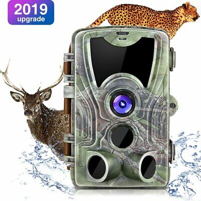 Trail Hunting Camera 16MP HD 1080P Night Vision Waterproof with TF Card 32G