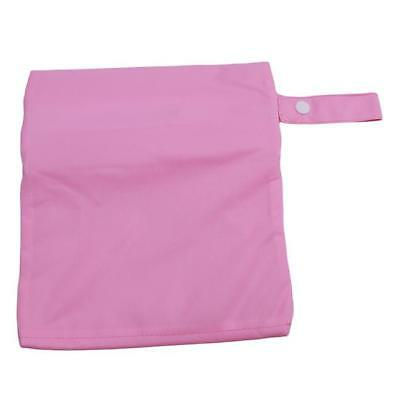 Wet Dry Bag For Soiled Cloth Nappy Diaper Wet Swimmer Waterproof Supplies Zip YO