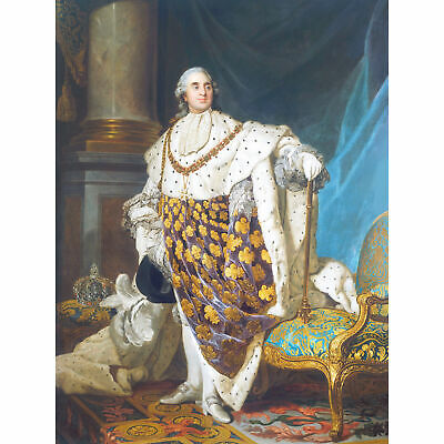 Duplessis Portrait King Louis XVI France Royal Painting Extra Large Art Poster