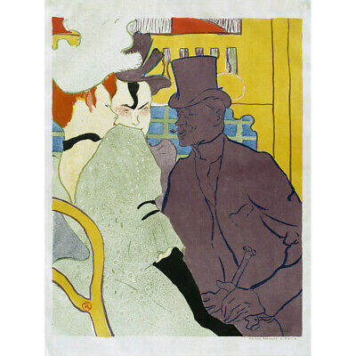 ADVERT EXHIBITION GALLERY TOULOUSE LAUTREC ARTIST FRANCE VILLE NICE PRINT LV808