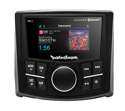 ROCKFORD FOSGATE Marine Source PMX-2 digitale Marine Media Bluetooth Empfänger